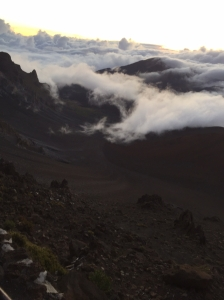Haleakala Crater Before Sunrise